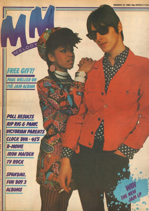 Style Council for Melody Maker, March 13, 1982