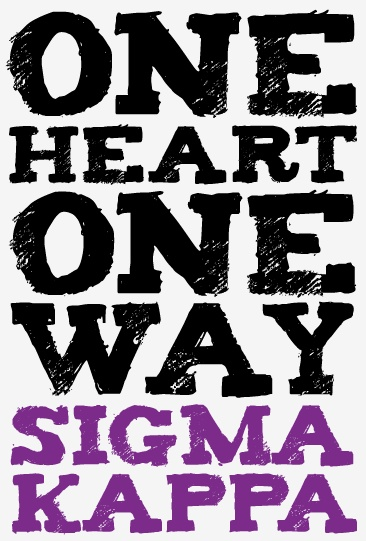 Always and forever Sigma Kappa