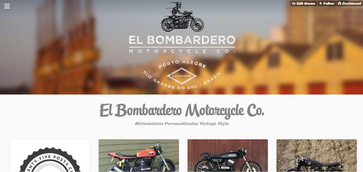 WebSite vintage motorcycle factory