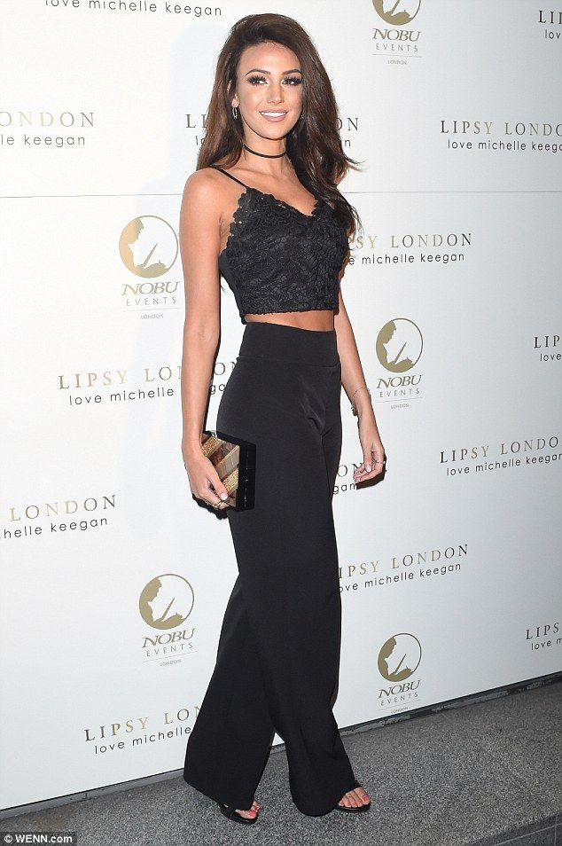 Sexy and she knows it! Michelle Keegan was on fine fashion form as she partied in London's Nobu Mayfair for fashion brand Lipsy
