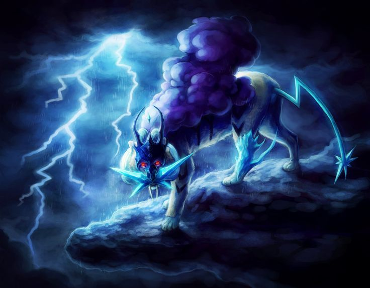 Anime Pokemon  Raikou (Pokemon) Wallpaper