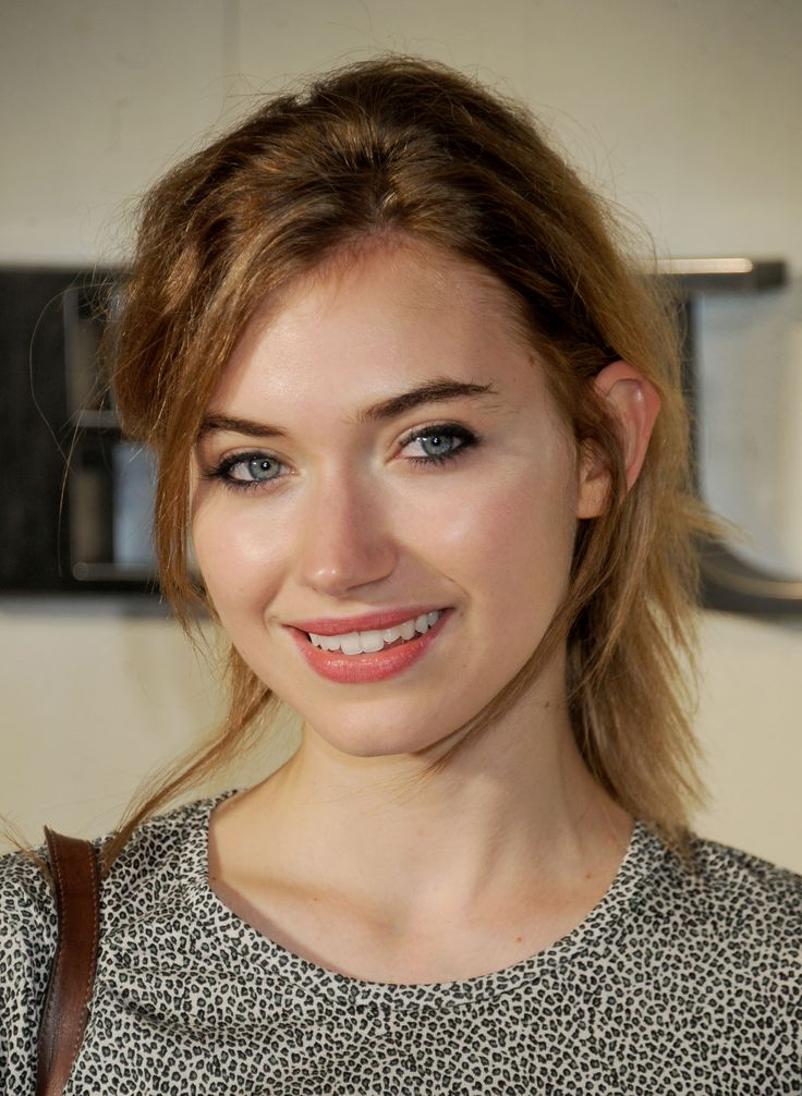 British actress Imogen Poots is the daughter of Fiona and Trevor Poots, a television producer. Description from thefemalecelebrity.com. I searched for this on bing.com/images
