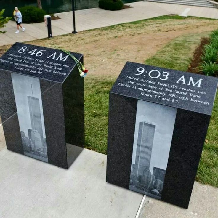 Twin Towers 9-11 Memorial, Very nicely done facts about that tragic day......