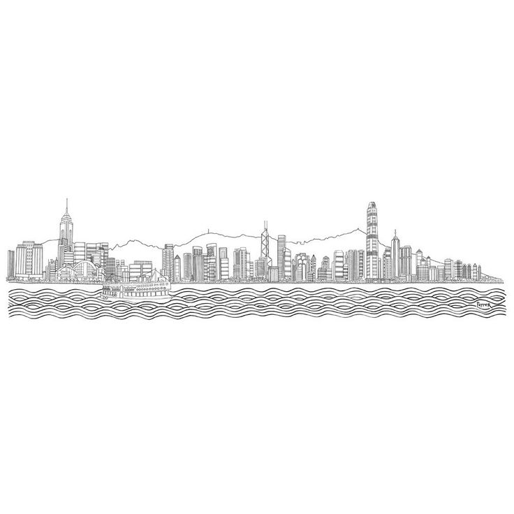 Rob pepper hong kong skyline
