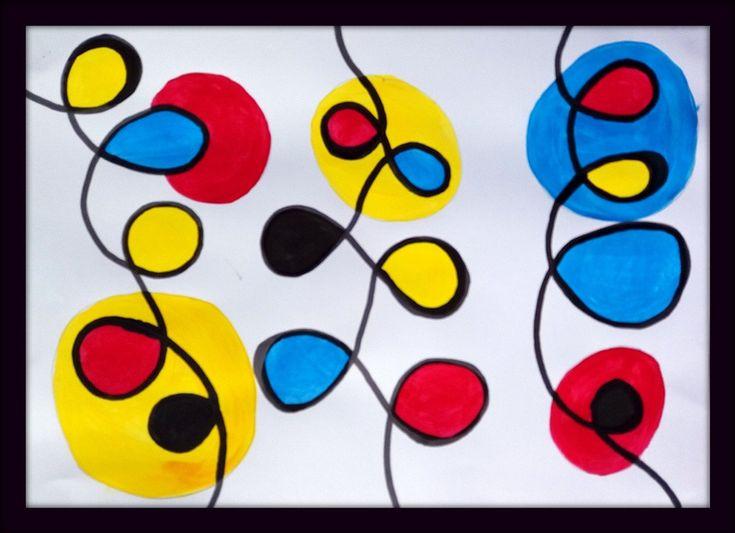 PRIMAIRES avec CALDER - Le tour de mes couleurs en 2020 (avec images) | Alexander calder ...