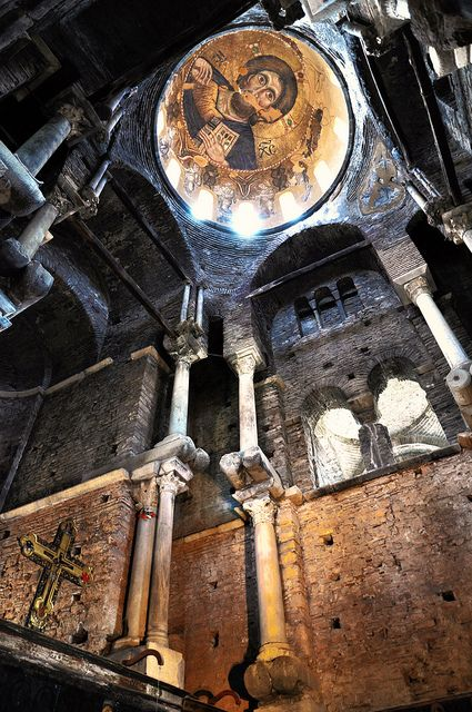 Cool stop to check out...Church of the Paregoretissa, Arta, Greece