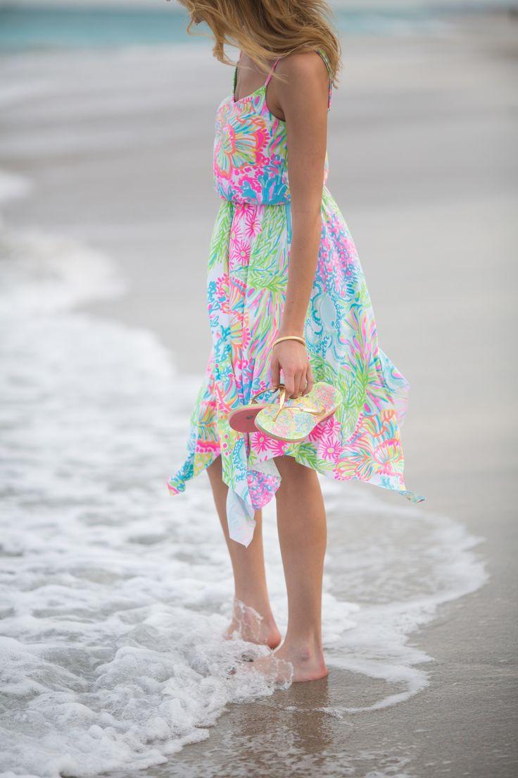 Lilly Pulitzer Dominica Handkerchief Hem Dress