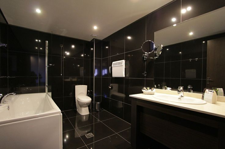 Deluxe double room - the bathroom