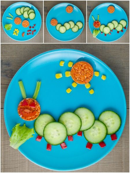 Organix Fun Healthy And Easy Food Art Plates For Toddlers