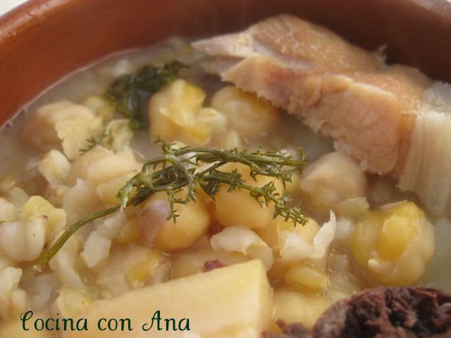 Cocina con Ana: POTAJE DE TRIGO DE ALMERIA