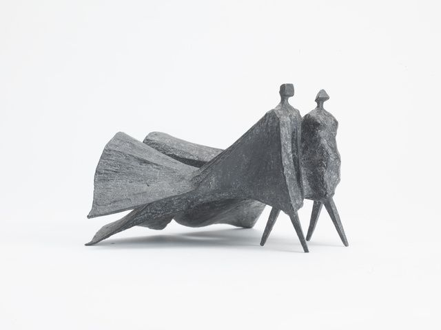 Lynn Chadwick | Winged Cloaked Figures V (1978) | Available for Sale | Artsy