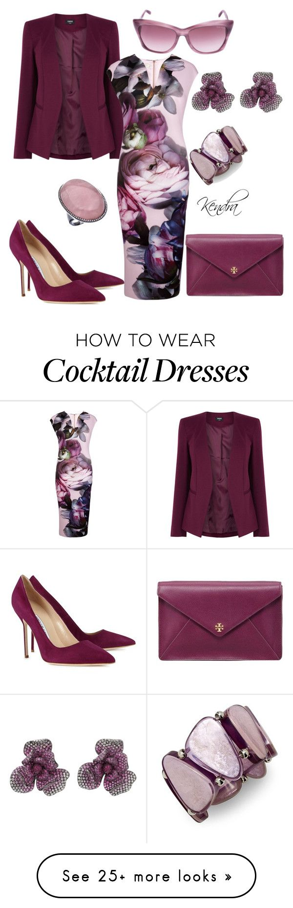 """Happy Wednesday"" by k1974johnson1117 on Polyvore featuring moda, Oasis, Ted Baker, Tory Burch, Manolo Blahnik, Wendy Yue, Madison Precious Jewels, Tom Ford y Style & Co."