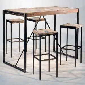 1000 ideas about mange debout on pinterest ikea hack desk table bar and h - Table bar 2 tabourets ...