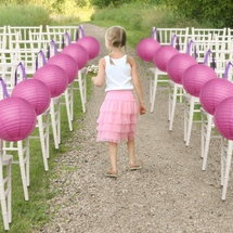Crafty Ribbon Ideas - Creative & Crafty Ribbon IdeasWedding Inspiration, Ideas, Paper Lanterns, Wedding Aisle, Shower Favors, Aisle Markers, Crafty Ribbons, Aisle Decor, Diy Wedding