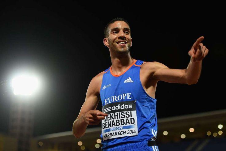 Mahiedine Mekhissi-Benabbad, Athletics (France)  -  The most beautiful athletes at the Olympic Games
