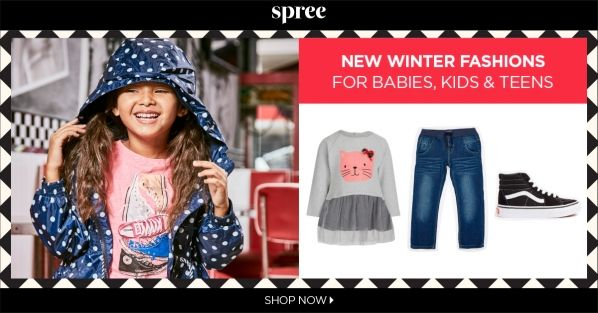 Spree Autumn Collection for Kids : All now !    #ad