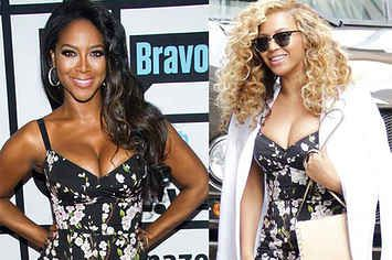 Kenya Moore's Thirst For Beyoncé Has Reached New Levels Of Disrespect