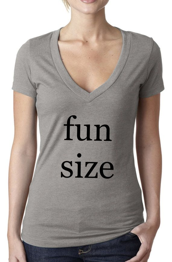Fun size - fun shirts - fun size tshirt - cute shirts - petite shirts - funny  shirts - funny tshirts women - halloween shirt -womens tshirts