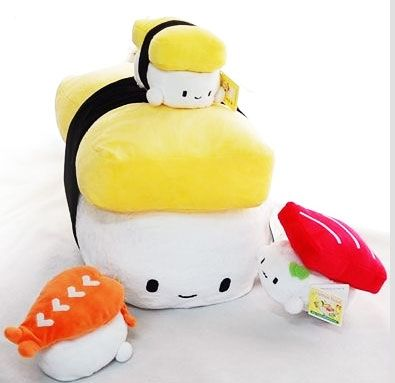 Sushi Pillow | Plush Cushion