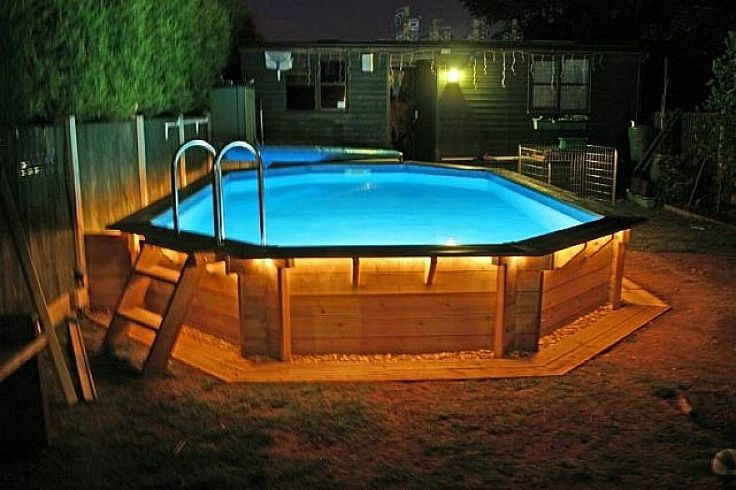 awesome ground pool decks plans design ideas httplovelybuildingcom above ground pool deck plans build your own simple pool pinterest pools pool
