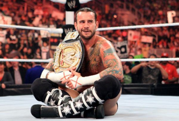 CM Punk Gave His WWE Championship Belt Away For Christmas