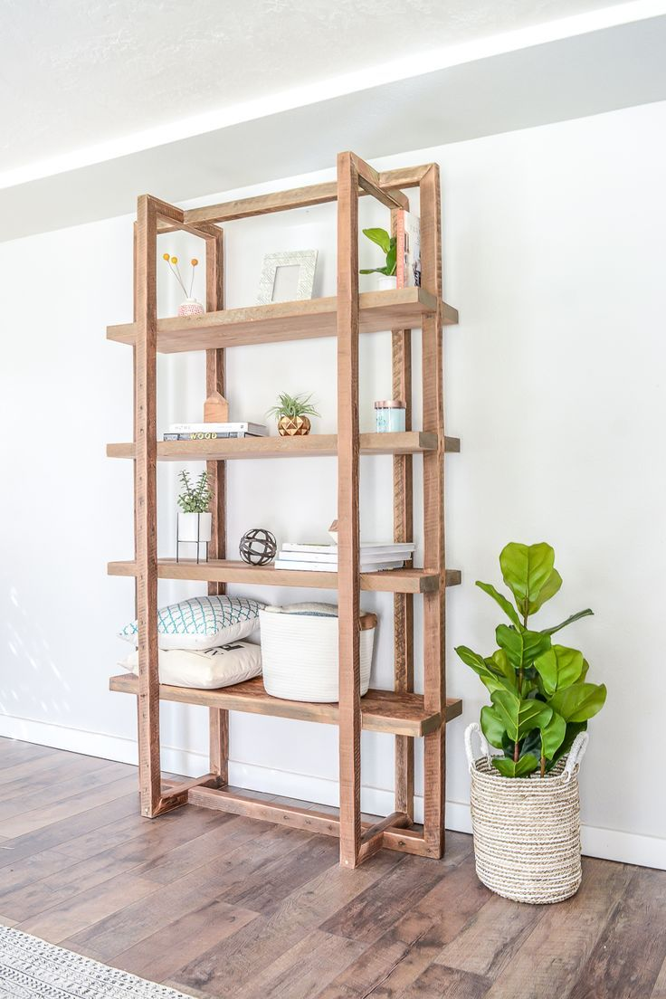 Diy Geometric Bookshelf Bookshelves Diy Diy Bookshelf Plans