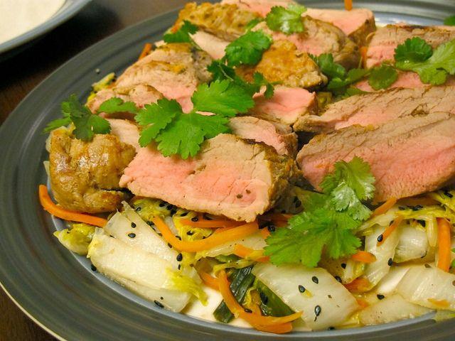 slow cooker pork tenderloin in garlic, herb and red wine sauce
