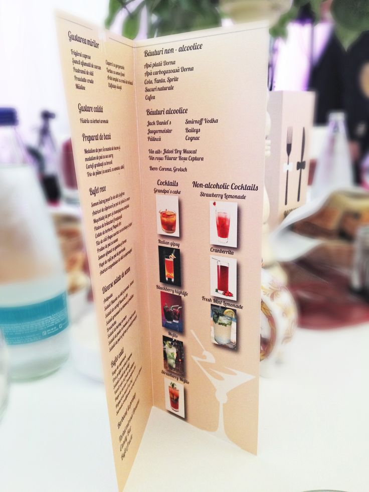 #fotocolaj food menu for the wedding party