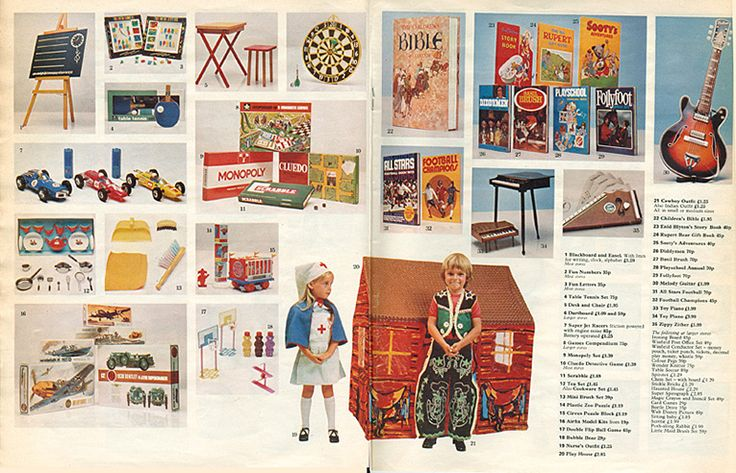 The toys our parents used to buy at Woolworth's in the 1960s and 1970s