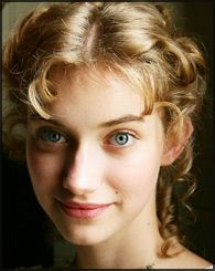 Fanny Knight (Jane Austen's niece) played by Imogen Poots in PBS's Miss Austen Regrets. Good example of regency hairstyle.