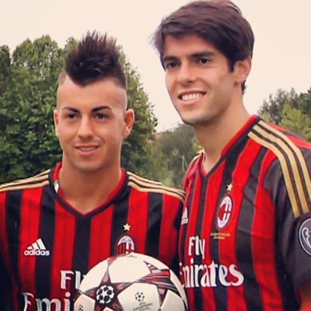 Ac Milan Kaka and El Shaarawy