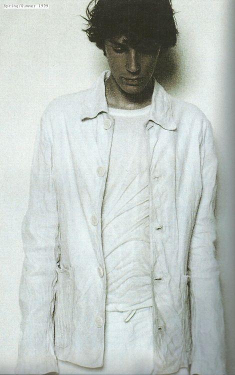 Ann Demeulemeester Retrospective - Spring 1999 shot by Patrick Robyn- StyleZeitgeist
