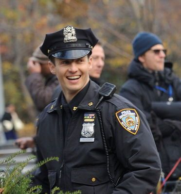 Will Estes - 11.19.12 on the set of Blue Bloods