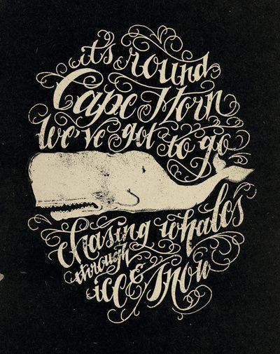 """Cape Horn"" - designer: Jon Contino #typography"