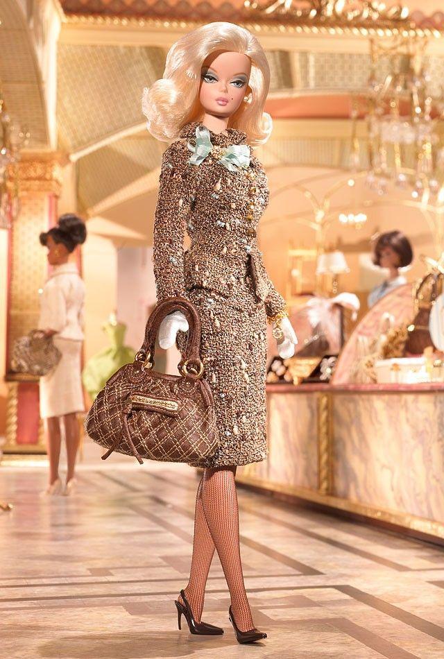 Tweed Indeed Barbie
