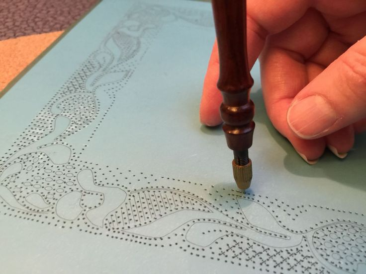 Pricking a pattern may not be the sexiest part of lacemaking, but it's got to be done. After a lot of trial and error, I have finally figured out what works for me.  Here are ten tips...