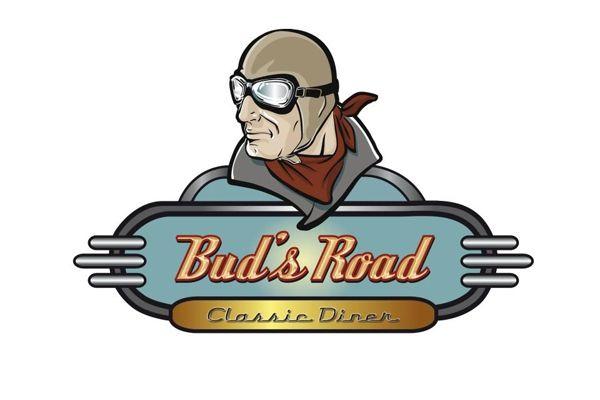 Bud S Road Classic Diner Logo Retro Furniture Retro
