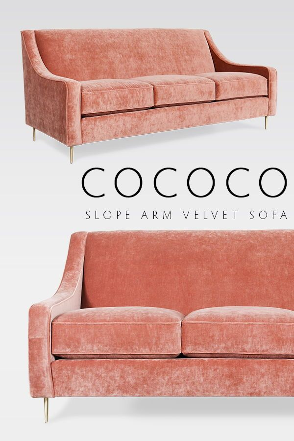 Our Slope Arm Tight Back Fabric Sofa Is Dreamy In This Milan