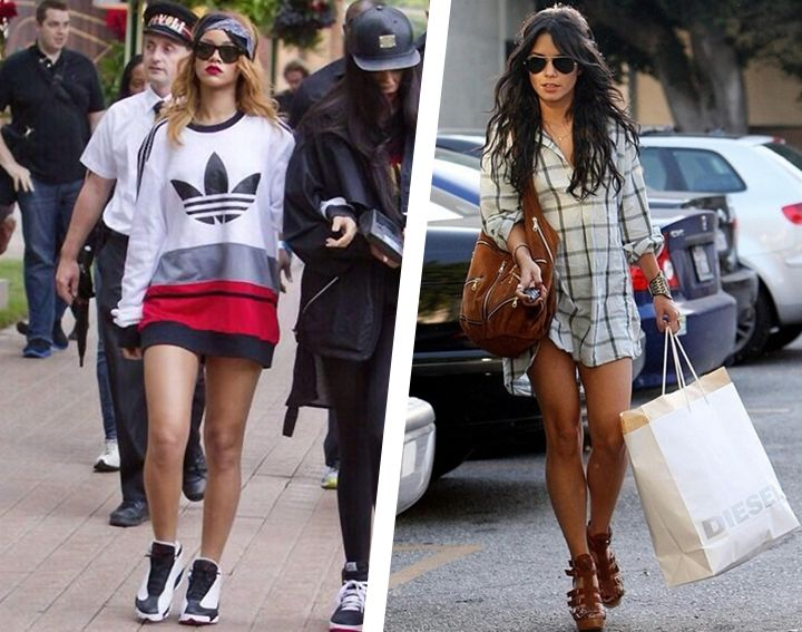 5 Perfect Oversized Tops To Wear In The Fall | Rihanna streetsyle
