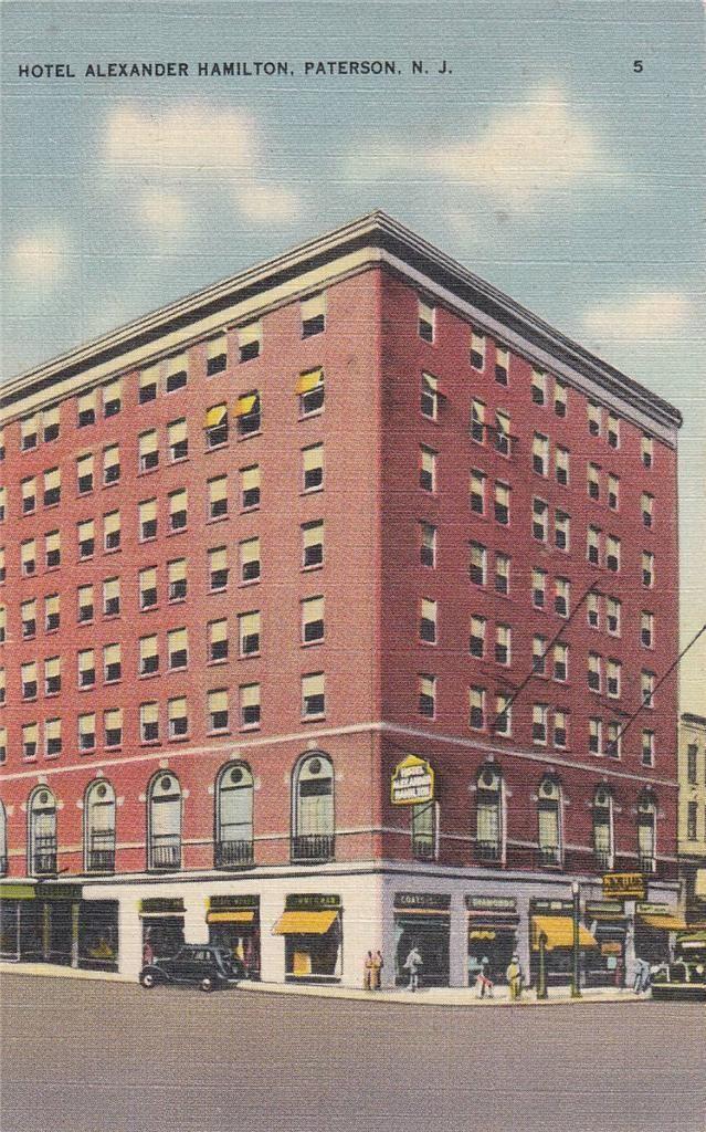 Hotel Alexander Hamilton Paterson New Jersey
