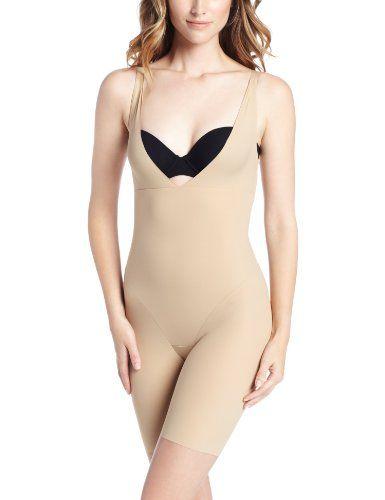 Maidenform Flexees Women's Shapewear Wear Your Own Bra Singlet ,Body Beige,Large