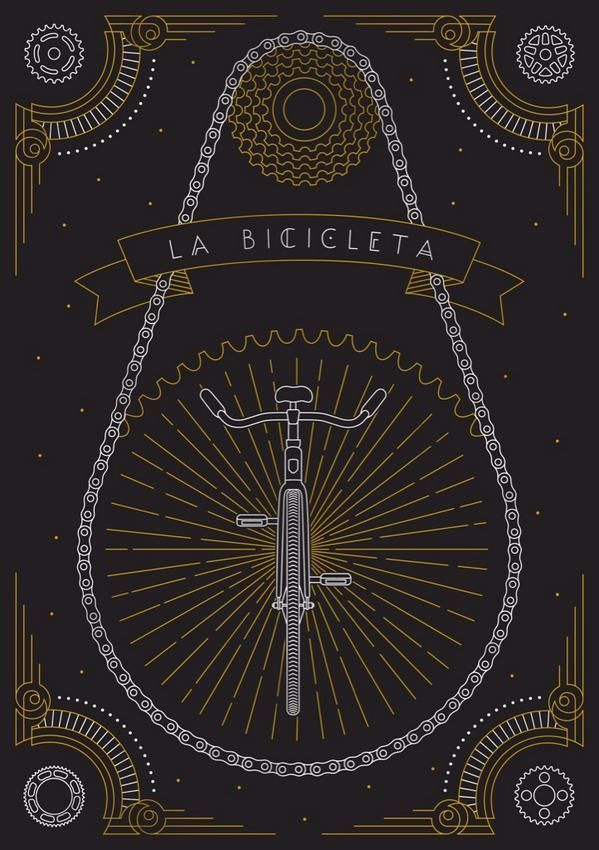 cadenced:  La Bicicleta by Sophie Greenspan for ARTCRANK Boston