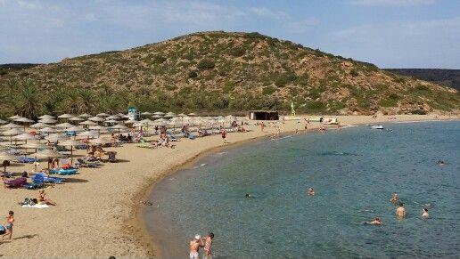 Palmenstrand von Vai auf Kreta