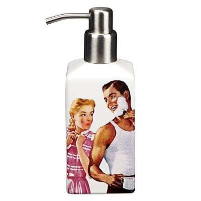 Buy Vintage by Wayne Hemingway Romantic Soap Dispenser, White online at JohnLewis.com - John Lewis