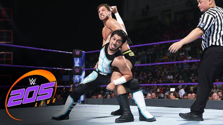 No Fly Zone?!? NO WAY for Mustafa Ali on WWE Network's WWE 205 Live!!!