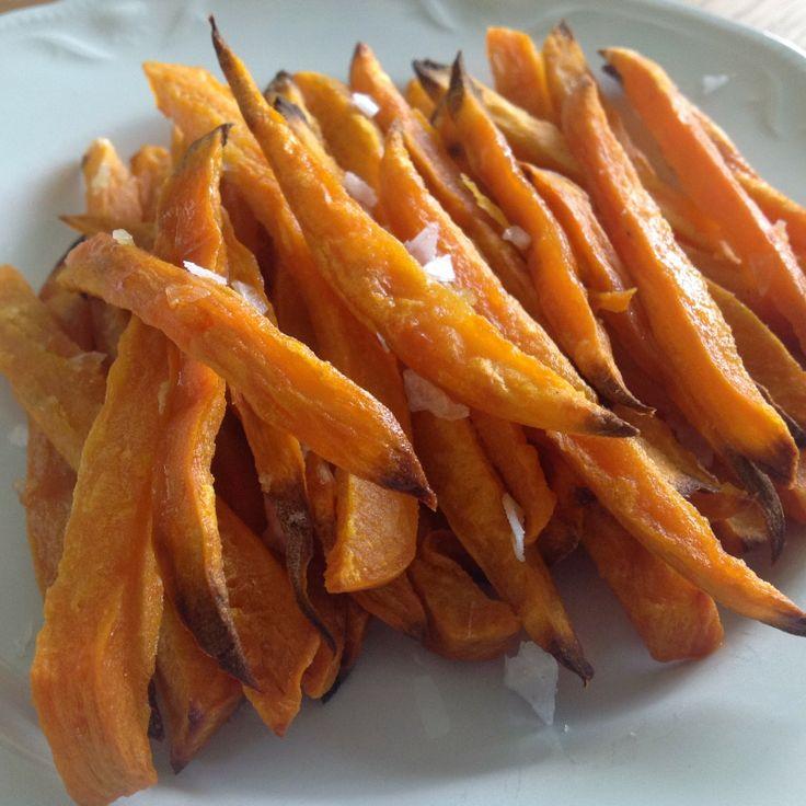 Under vårt tak: Sötpotatis pommes