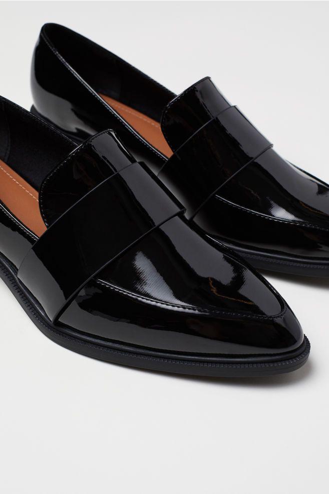 Loafers - Black - Ladies   H\u0026M US