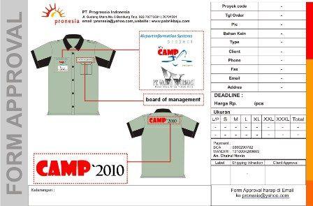 http://www.konveksi-jakarta.com/ Kemeja Camp 2010