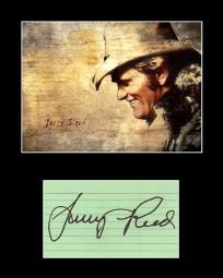 Always loved Jerry Reed~~Collectible Country Music and Film Star Jerry Reed Signed Autograph and Photo