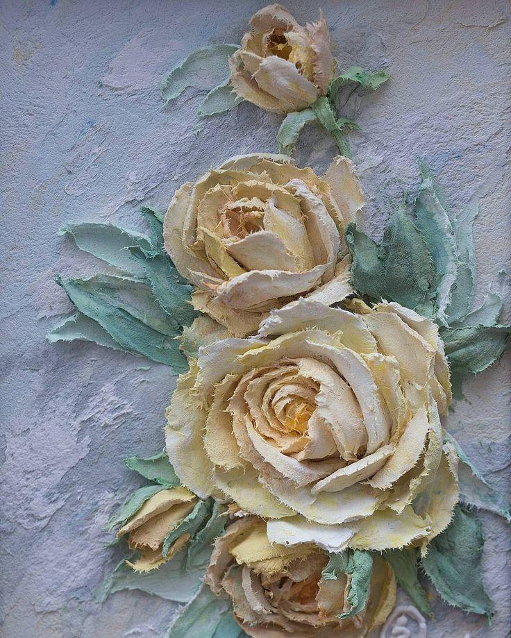 С Новым Годом!!! Хороших и тёплых выходных вам!! Приятных встреч и душевного общения!!!❄⛄❄ #скульптурнаяживопись #объемноепанно #объемнаяживопись #декоративнаяштукатурка #vscorussia #flowers #творчество #живопись #картина #картинасцветами #картинаназаказ